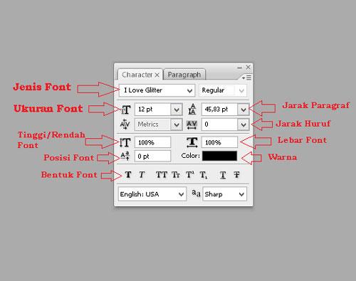 text tool
