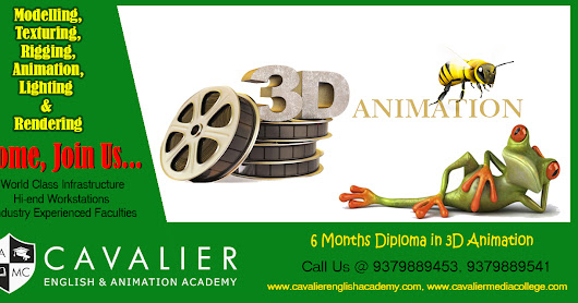 3D Animation institutions in Bangalore - Cavalier