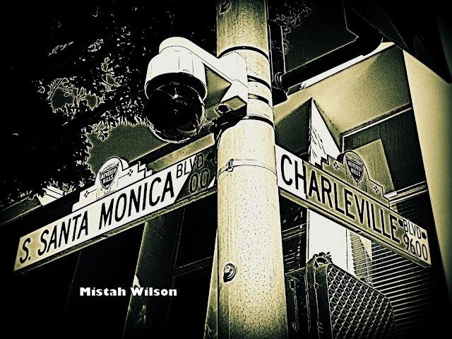 Santa Monica Boulevard & Charleville Boulevard, Beverly Hills, California by Mistah Wilson
