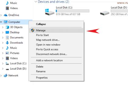 Cara Membagi Partisi Hardisk Windows 10, 8, 7 + Menghapus