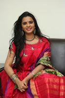 Manasa in Pink Salwar At Fashion Designer Son of Ladies Tailor Press Meet Pics ~  Exclusive 36.JPG