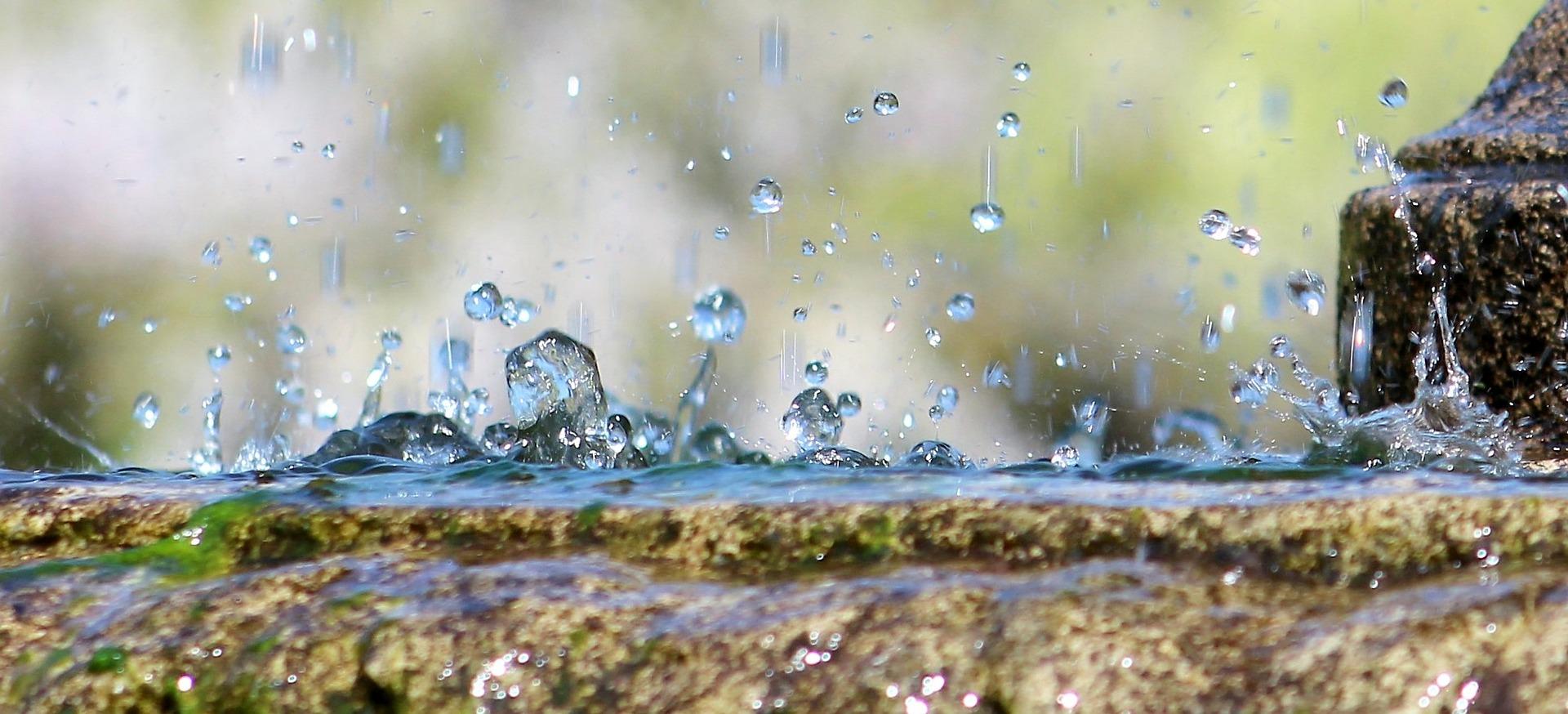 قطرات المطر - rain drops