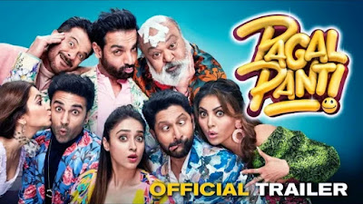 Pagalpanti 209  movie of John Abraham   and Anil Kapoor    Cast name   Released Date   all information of Movie