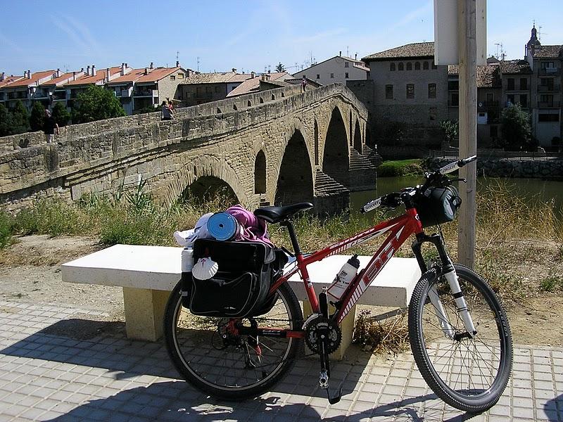 Puerta De La Vera Beneficios De Andar En Bicicleta 1: Camino De Santiago (IV). Cizur Menor-Estella(44,5