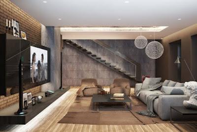 Modern Sitting Room Lighting Designs 3