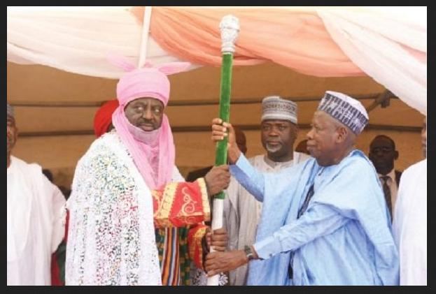 Governor Ganduje Appointment of Alhaji Aminu Ado Bayero as New Emir of Kano