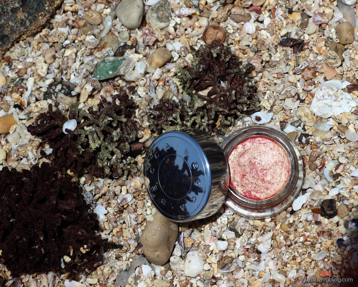 becca beach tint shimmer souffle watermelon moonstone review swatch בקה שימר סומק סקירה סופלה גלוסברי בלוג איפור וטיפוח