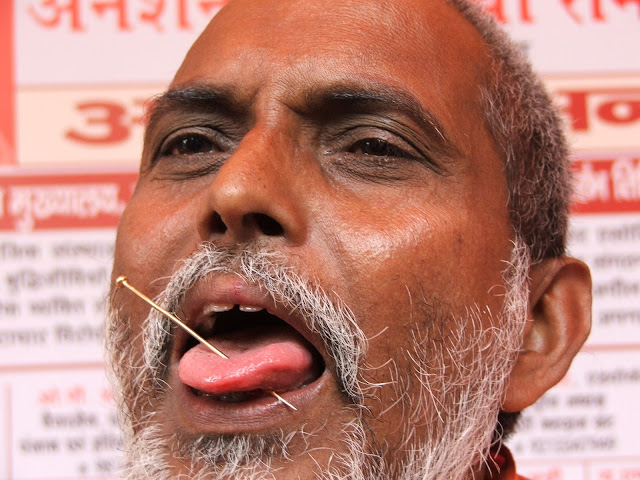 baba-ramkewal-hunger-strike-with-silent-in-faridabad-countinuous