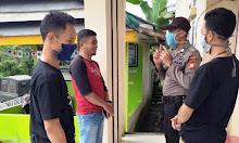Bhabinkamtibmas Polsek Sinjai Borong Polres Sinjai Himbau Warga Patuhi Protokol Kesehatan