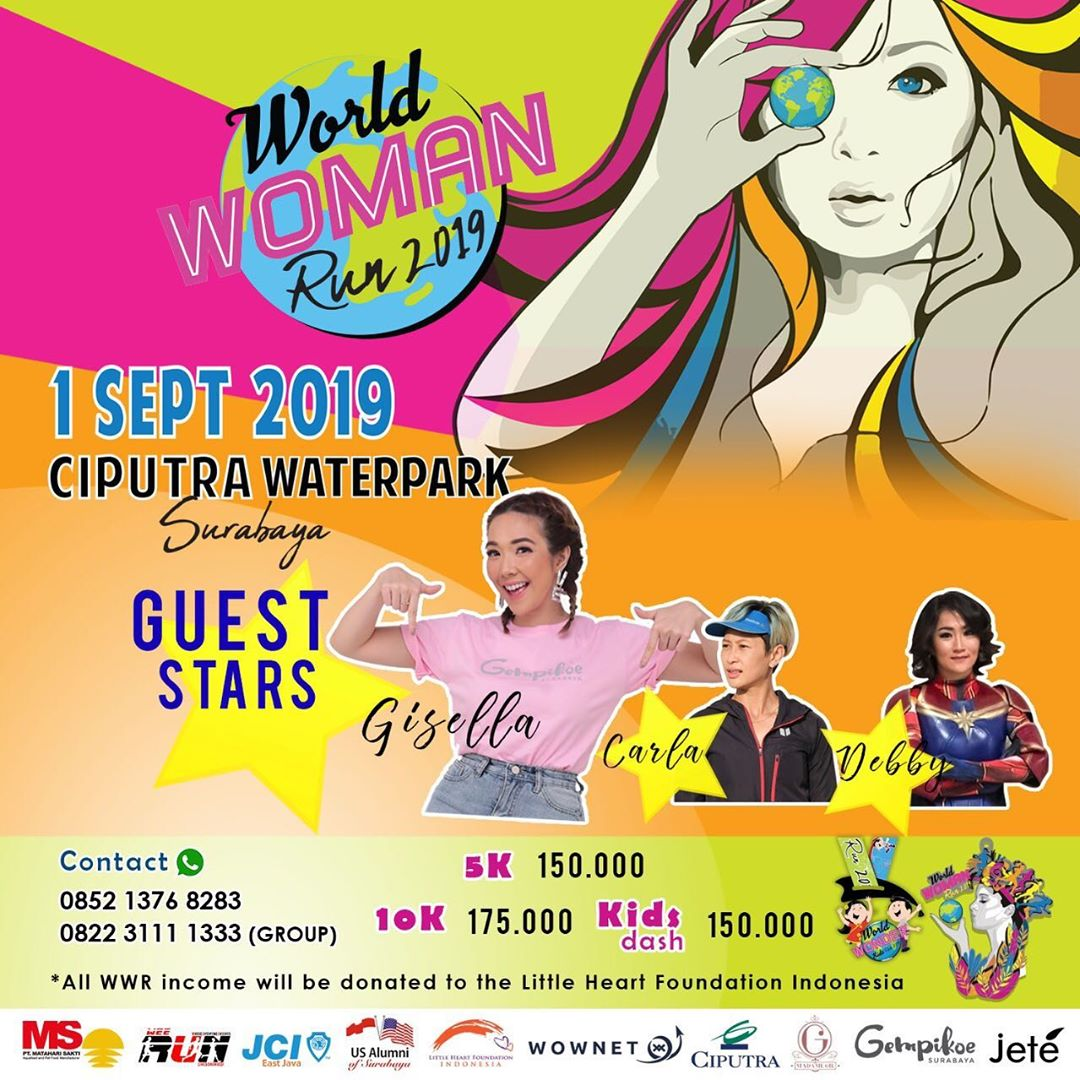 World Woman Run • 2019