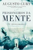 Capa divulgação do livro prisioneiros da mente
