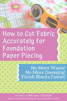 How to Fabric Accurately for FPP - Quilting Tutorial