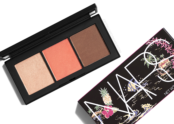 NARS Motu Tapu Face Palette Review Photos Swatches Summer 2019