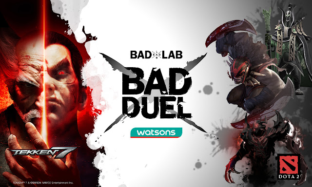 bad lab jenama kecantikan, the bad duel, watsons malaysia, anjur esukan,