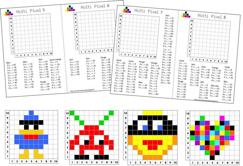 Remue Méninge: Multi Pixels 2