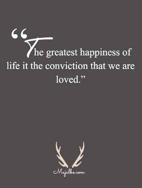 Happiness Of Life Love Quotes