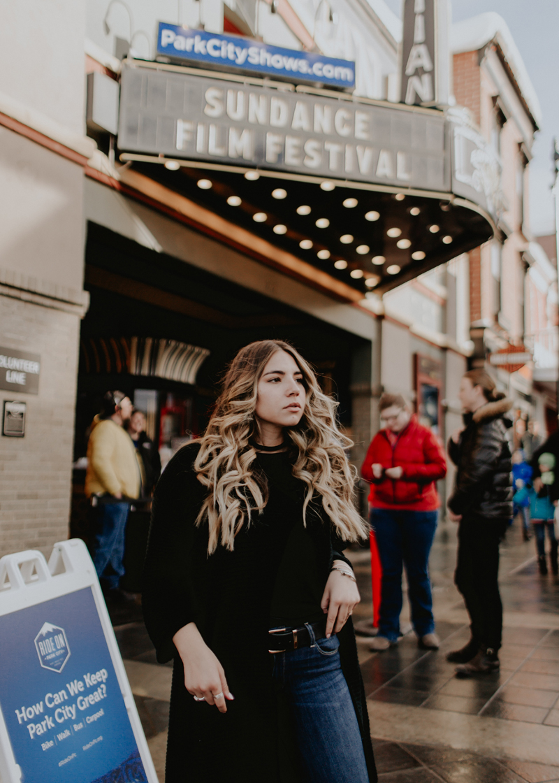 sundance film festival, sundance, oversized sweater