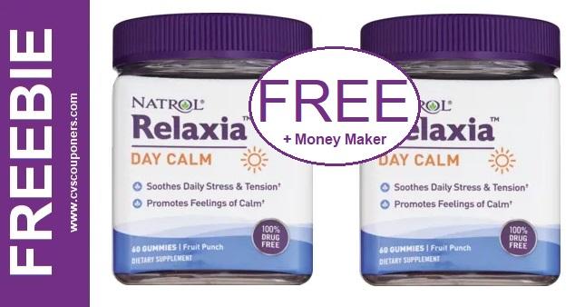 FREE Natrol Relaxia Gummies at CVS