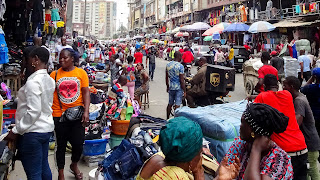 Lagos Island is overpopulated and conflicts escalate every minute