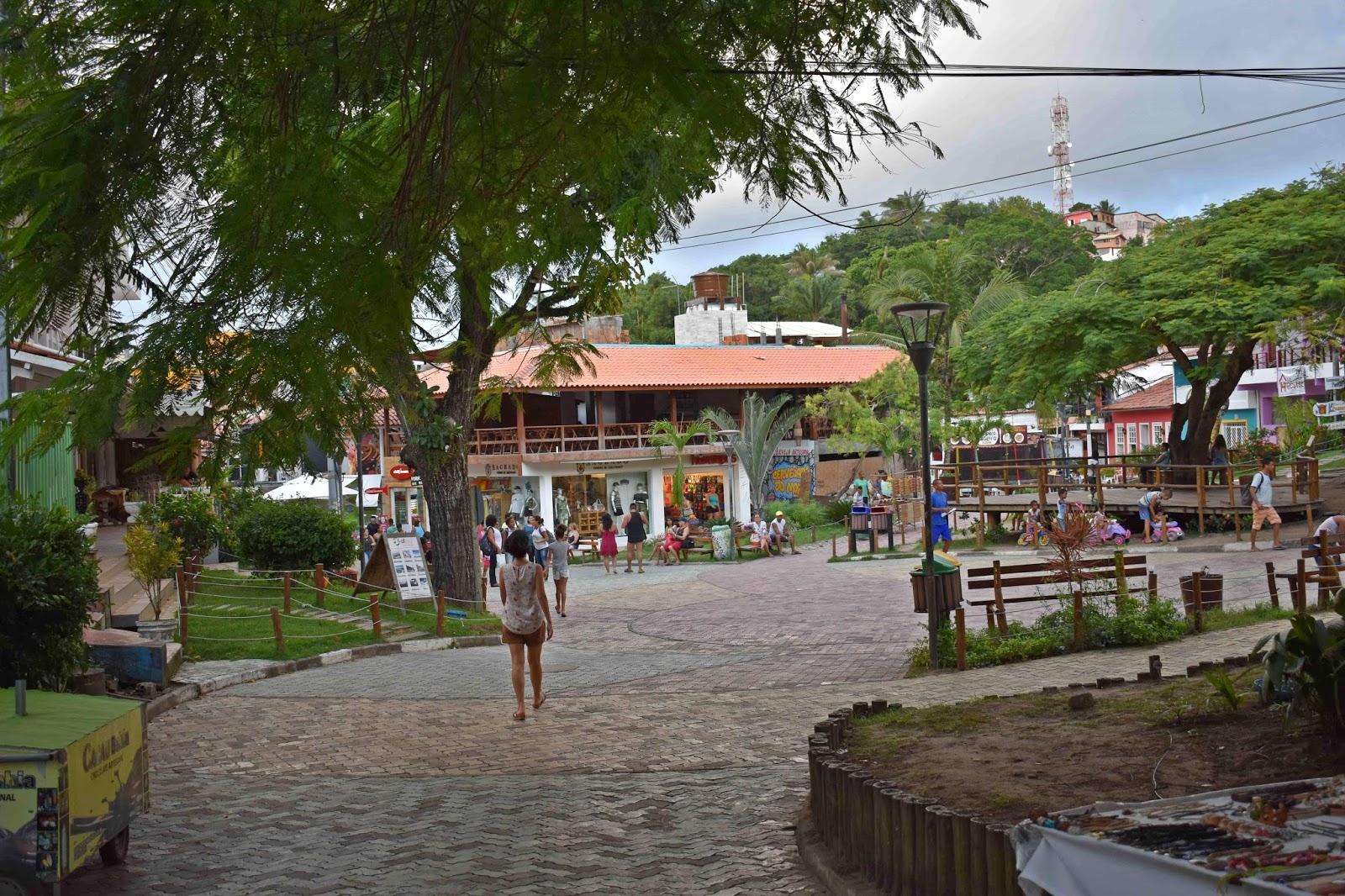 Centro de Morro de São Paulo, como chegar