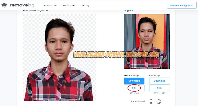 1 Menit! Ganti Background Foto Online Tanpa Aplikasi