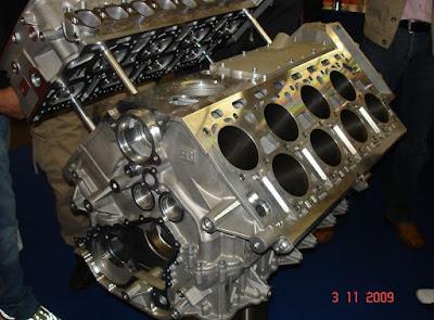 mesin W 16 Bugatti Veyron