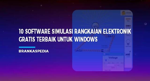 Software Simulasi Rangkaian Elektronik