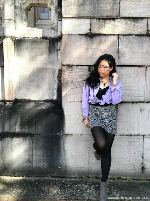 OOTD Inspo: Styling a Men's Shirt for Women - A Glimpse of Glam