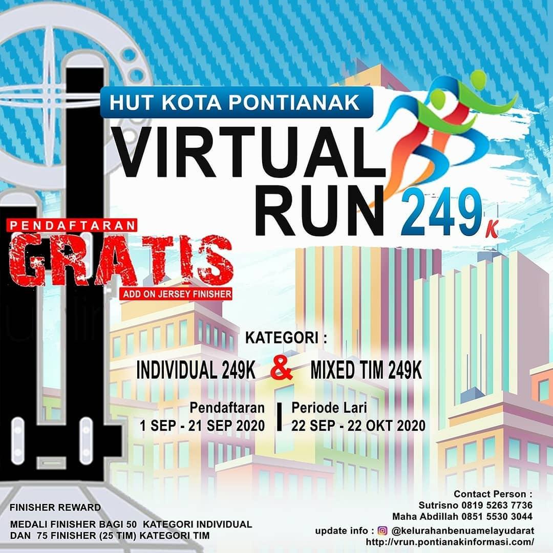 Pontianak Virtual Run 249K • 2020