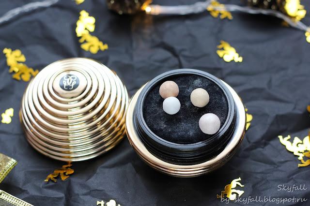 Guerlain Meteorites Gold Pearl Рождество 2017