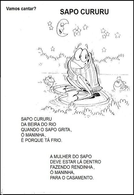 Cantigas De Roda Na Educacao Infantil Espaco Maternal