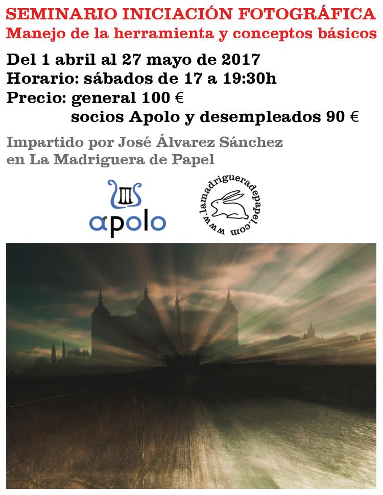 TOLEDO-LIBRERÍA-LA MADRIGUERA DE PAPEL-ACTIVIDADES-SEMINARIO-FOTOGRAFÍA