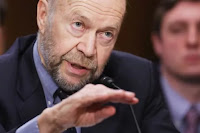Atmospheric physicist and Columbia University Earth Institute adjunct professor James Hansen testifies before the Senate Foreign Relations Committee during a hearing about the proposed Keystone XL pipeline project in the Dirksen Senate Office Building on Capitol Hill March 13, 2014 in Washington, DC. (Credit: Chip Somodevilla Getty Images) Click to Enlarge.