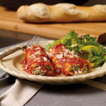 Easy Roll-Up Cannelloni Recipe