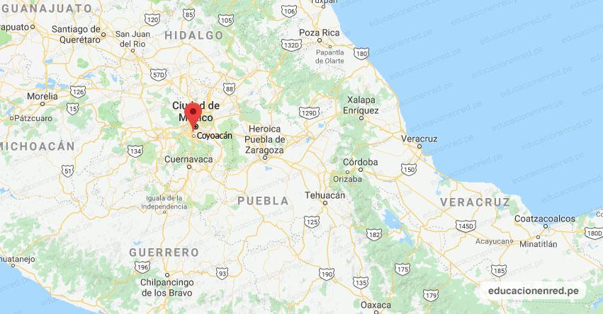 Fuerte Sismo en México de Magnitud 2.4 (Hoy Viernes 5 Octubre 2018) Terremoto Temblor Epicentro - Coyoacan - CDMX - SSN - www.ssn.unam.mx