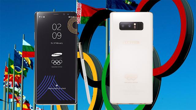 Samsung a lansat Galaxy Note8 ediție limitată PyeongChang pentru Jocurile Olimpice de Iarnă 2018