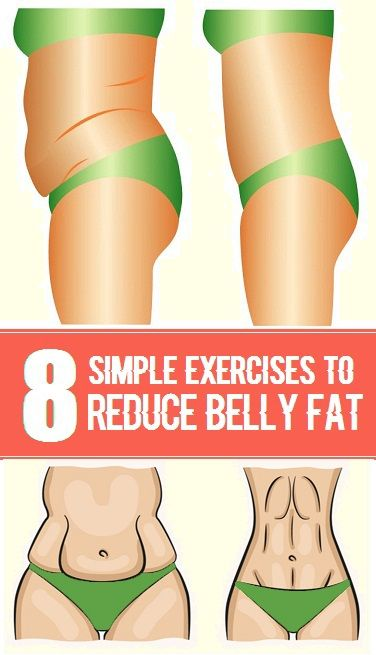 Strong Healthy Woman 8 Simple Exercises To Reduce Belly Fat-3425