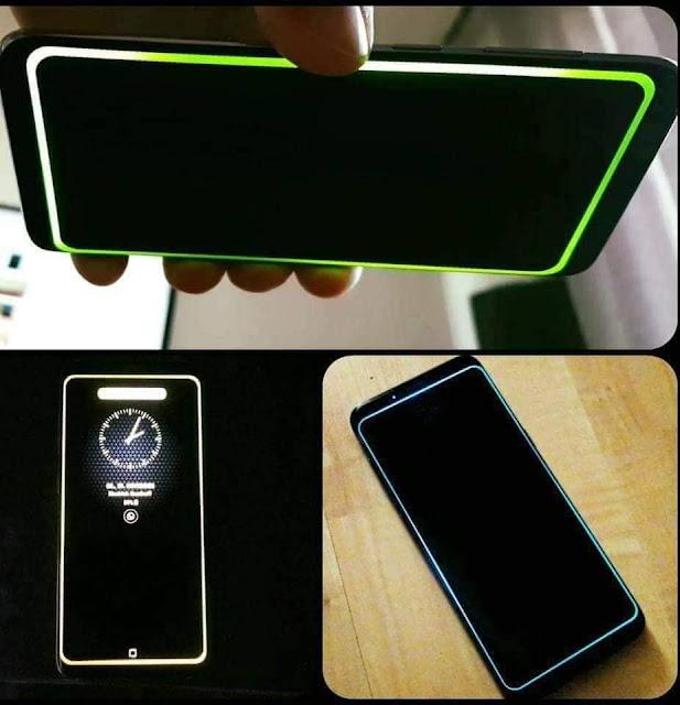 تطبيق رائع لإضاءة حواف الشاشة عند استقبال اشعارات رسائل فيسبوك مسنجر انستاغرام او مكالمات كما في هواتف Galaxy S8