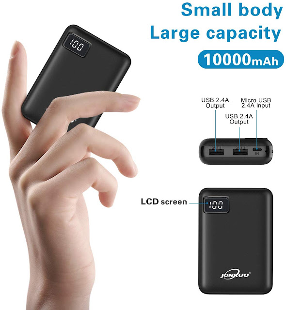 Portable Phone Charger 10000mAh