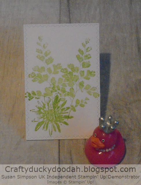 Craftyduckydoodah!, Kre8tors Blog Hop, Positive Thoughts, Colour Challenge, Susan Simpson UK Independent Stampin' Up! Demonstrator, Supplies available 24/7 from my online store, Spring / Summer 2020
