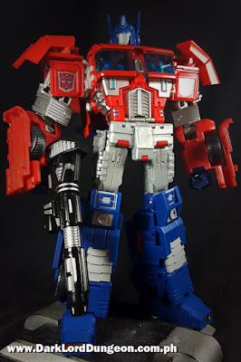 SND-01 Primo Vitalis Optimus Prime Upgrade Kit Review