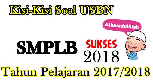 Kisi-Kisi Usbn Smplb K13 Tahun 2018
