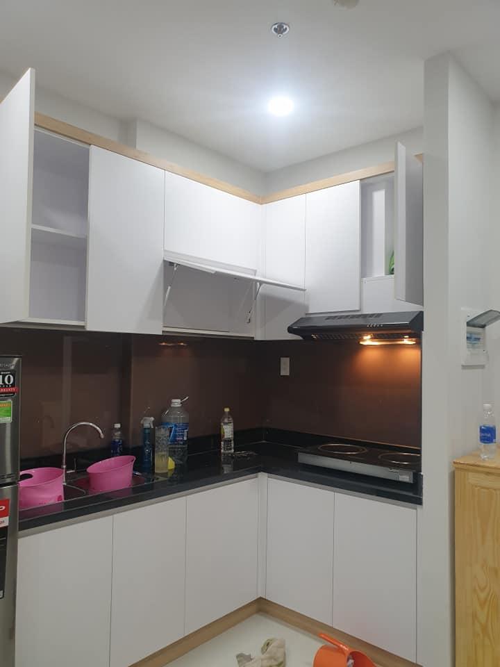 phòng bếp căn hộ làng Đại học
