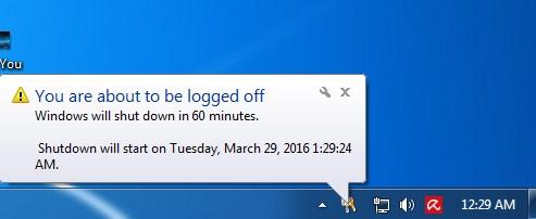 Matikan Komputer kalian Pada Waktu Tertentu