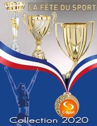 Catalogue La Fête du Sport 2020 : Coupes, Médailles, Trophées.
