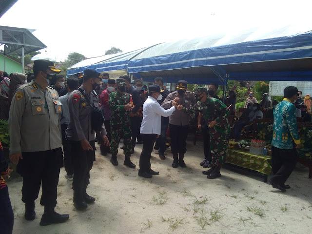 Pengamanan Kegiatan Kedatangan Gubernur Dan Kapolda Beserta Forkopimda Provinsi Kalimantan Tengah Di SMKN 1 Sampit