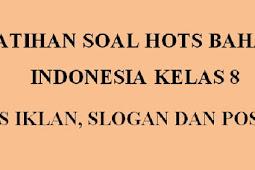 Soal Hots K13 Bahasa Indonesia Kelas 8 Revisi Terbaru