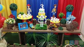 Decoração Toy Story Porto Alegre