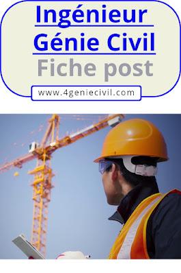 Missions de l'ingénieur génie civil