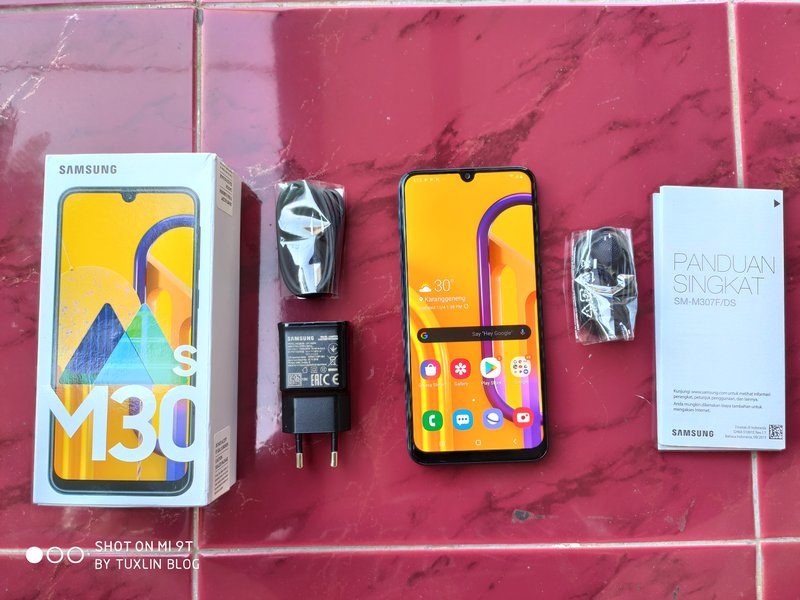 Paket Pembelian Samsung Galaxy M30s